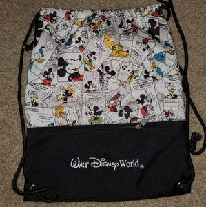Disney World drawstring bag